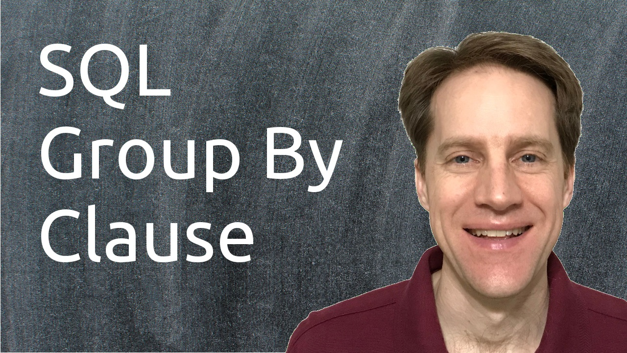 Sql group clause